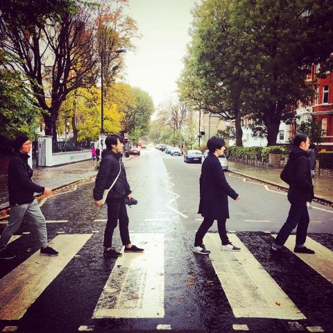 LITE having a Beatles moment - Abbey Road