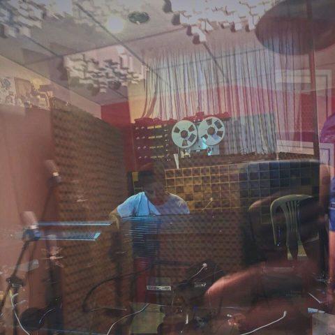 Salim Naffah at Tunefork Studios
